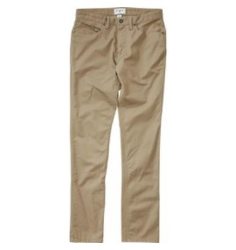 BILLABONG BOYS CARTER STRETCH B311GCAS