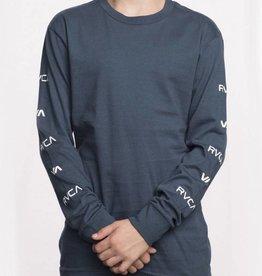 RVCA Boy's Brand Stack Long Sleeve T-Shirt