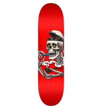 POWELL Powell Peralta Curb Skelly Skateboard Deck Red - 8.25 x 31.95
