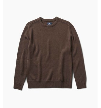 ROARK DOMINGUEZ SWEATER BROWN SIZE LARGE