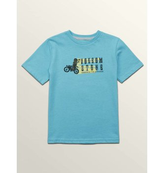 VOLCOM Moto Mike Short Sleeve Youth Tee