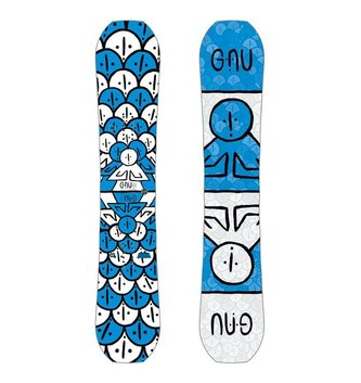 GNU SNOWBOARDS ASYM FB HEAD SPACE C3