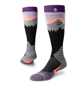 STANCE SOCKS WO SN PARK WHITE CAPS PURPLE