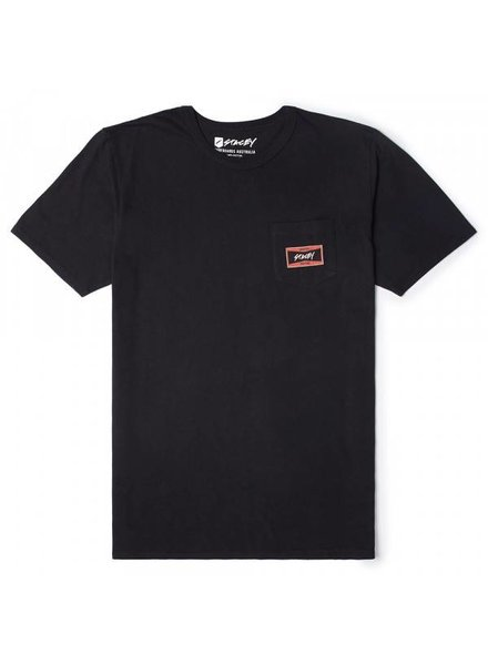 STACEY Black Tie Pocket Tee (Various Colours)