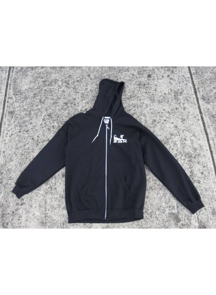 ZAK SURFBOARDS ZAK Full Zip Hoodie Surf Logo Black