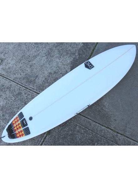 "SECONDHAND SURFBOARDS DMS Single Fin 6'6"" x 21"" x 2.63"" 37.9L (#333)"