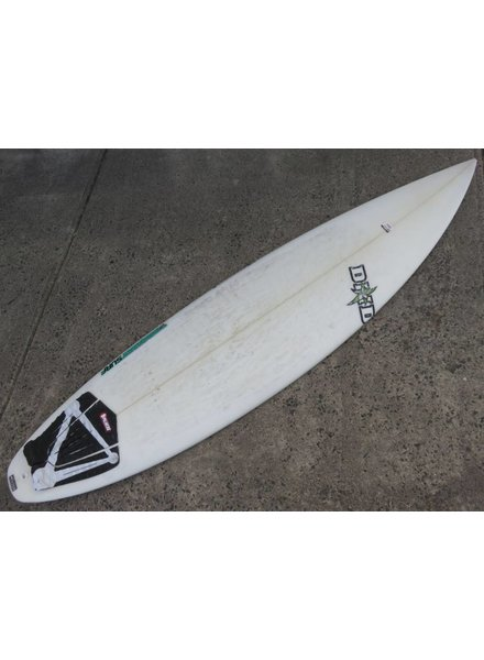 "SECONDHAND SURFBOARDS DHD 6'4"" x 18 5/8"" x 2 3/8"" FCS (#349)"