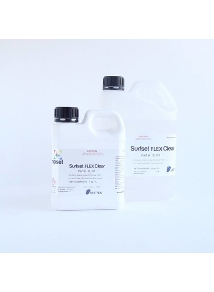 SURFSET Flex Resin Clear 3LT