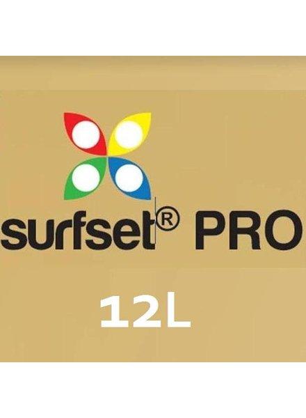 SURFSET Pro resin Clear 12lt