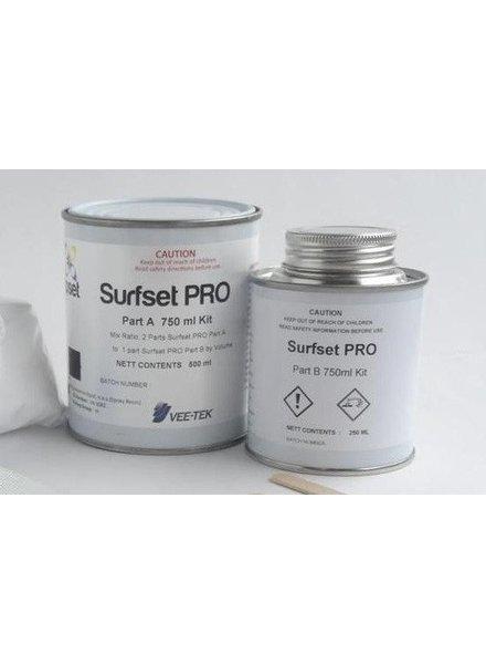 SURFSET Pro Resin Clear 750 ML