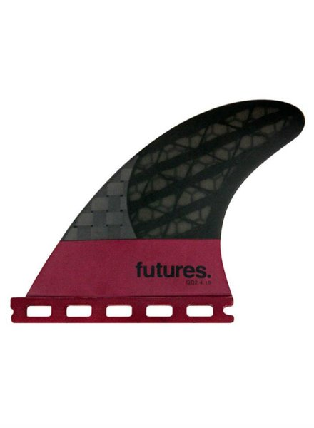 FUTURES FUTURES QD2 4.15 Blackstix 3.0 Quad Trailers
