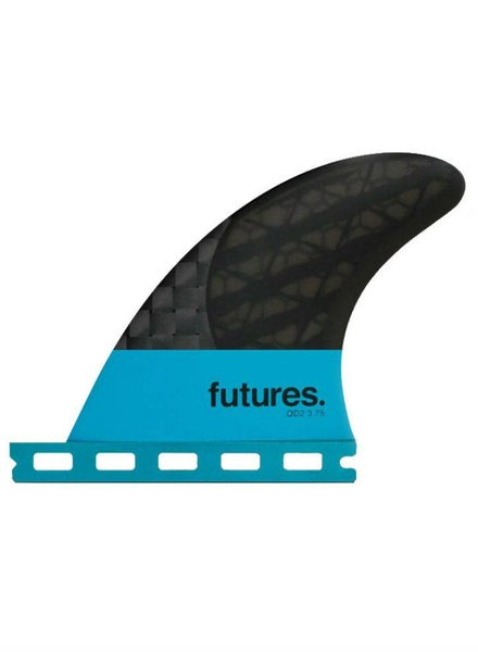 FUTURES FUTURES QD2 3.75 Blackstix 3.0 Quad Trailers