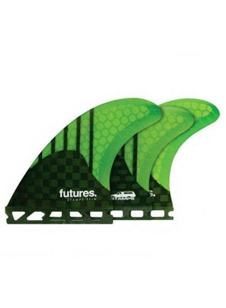 FUTURES FUTURES Generation Stamps Tri-Quad 5-fin