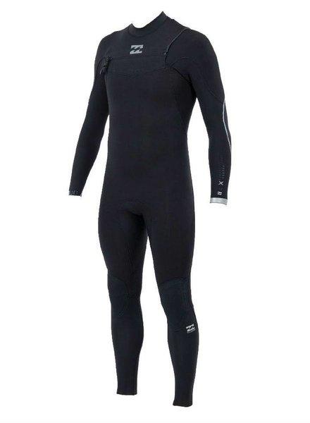 BILLABONG BILLABONG 403 Furnace Carbon Comp Chest Zip Full Suit Steamer