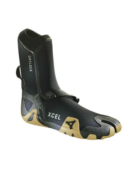XCEL XCEL Drylock TDC Split Toe Boot 3mm Gum (Various Sizes)