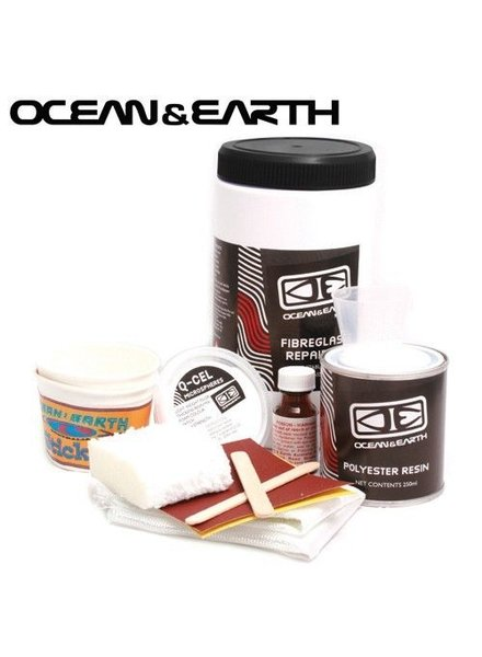 OCEAN & EARTH O&E FIBREGLASS REPAIR KIT