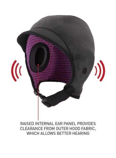 OCEAN & EARTH OCEAN & EARTH Easy Hear Neoprene 2mm Hood (Various Sizes)