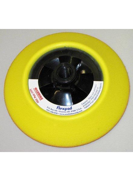 FLEXPAD FLEXPAD 6 Inch Yellow Softie Velcro 14MM