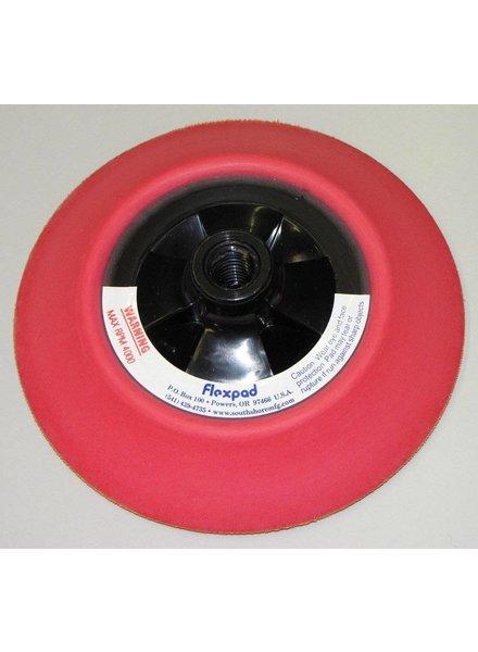 FLEXPAD FLEXPAD 6 Inch Red Medium Velcro 14MM