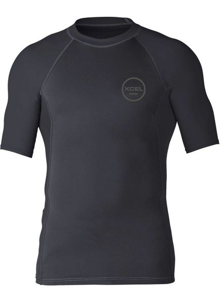 XCEL Xcel Mens Huntington S/S UV Black