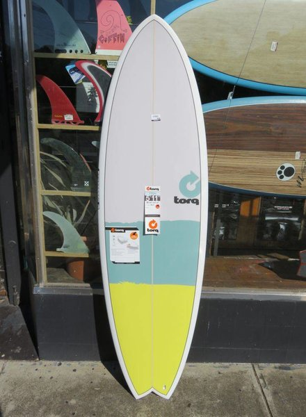 """TORQ Torq Mod Fish 5'11"""" x 20 3/8"""" x 2 1/2"""" 33.2L Futures  (*Cover & Legrope Package available)"""