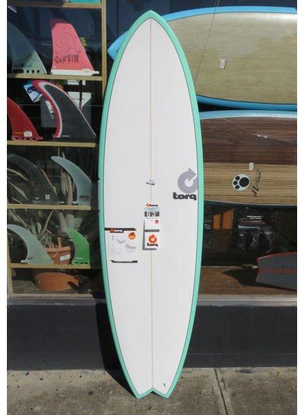 """TORQ Torq Mod Fish 6'3'' x 20 1/2"""" x 2 1/2"""" 36L Futures (*Cover & Legrope Package available)"""