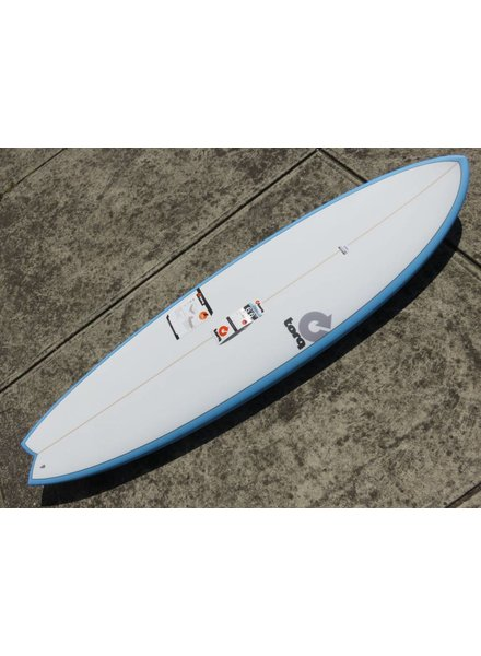 "TORQ Torq Mod Fish 6'6"" x 21"" x 2 5/8"" 39.6L Futures  (*Cover & Legrope Package available)"