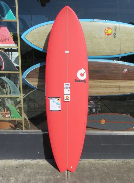 """TORQ Torq Mod Fish 6'10"""" x 21 3/4"""" x 2 3/4"""" 46L Futures (*Cover & Legrope Package available)"""