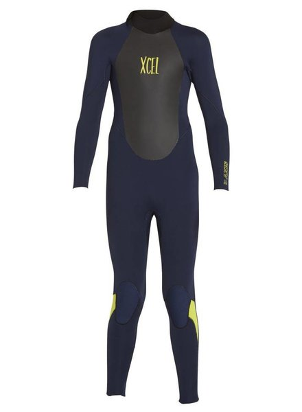 XCEL Xcel Boys Axis 3/2 Back Zip