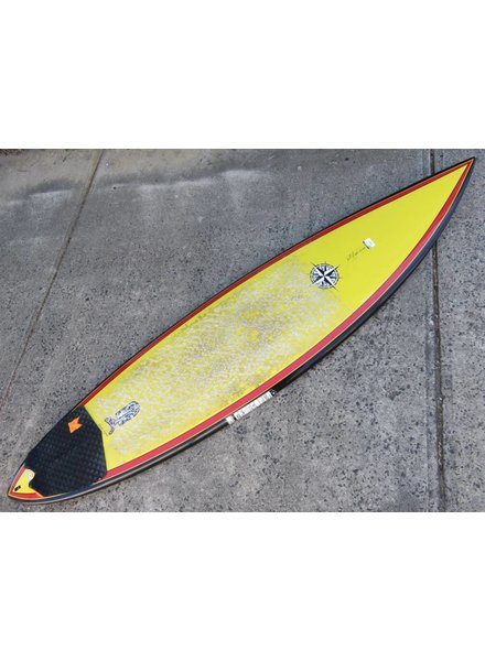"(#469) Wayne Lynch Full Flight 6'10"" x 18 1/2"" x 2 1/2"" FCS"