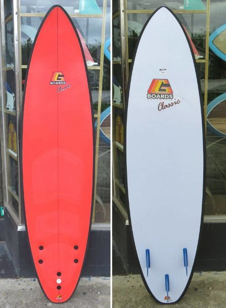"""GBOARDS G Board Classic 6'6"""" (Various Colours)"""