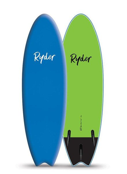 RYDER Ryder Fish Series Softboard  (inc. Cover & Legrope Package)