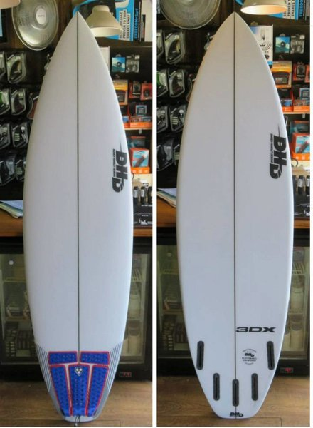 "DHD Demo DHD 3DX 6'8"" x 20 5/8"" x 2 13/16"" 45L Futures"