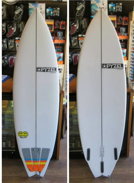 "PYZEL Demo Pyzel Happy Twin 6'0"" x 20"" x 2.63"" 33.7L Futures"