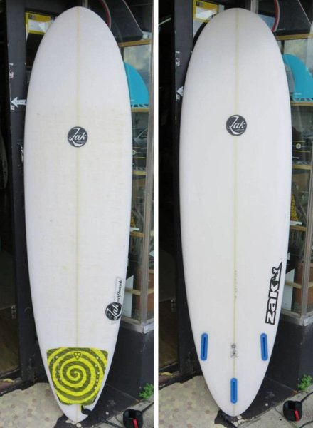 "ZAK SURFBOARDS Demo Zak Venus Fly Trap VFT 6'10"" x 21 1/2"" x 2 3/4"" 44.3L Futures"