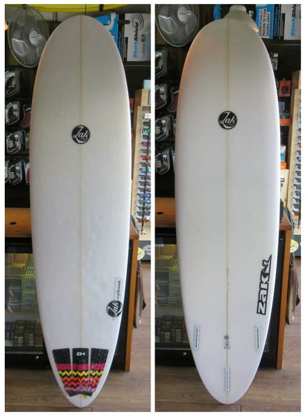 "ZAK SURFBOARDS Demo Zak Venus Fly Trap VFT 7'0"" x 22"" x 2 7/8"" 48.5L Futures"
