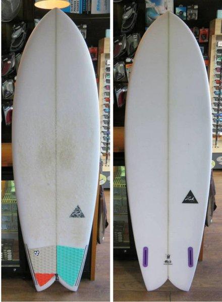 "ZAK SURFBOARDS Demo Zak Twin Fish 6'0"" x 21 1/2"" x 2 3/4"" Futures"