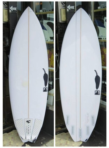 "CHILLI Demo Chilli Black Vulture EPS - 5'5"" x 19 1/4"" x 2 1/4"" 25.5L Futures"