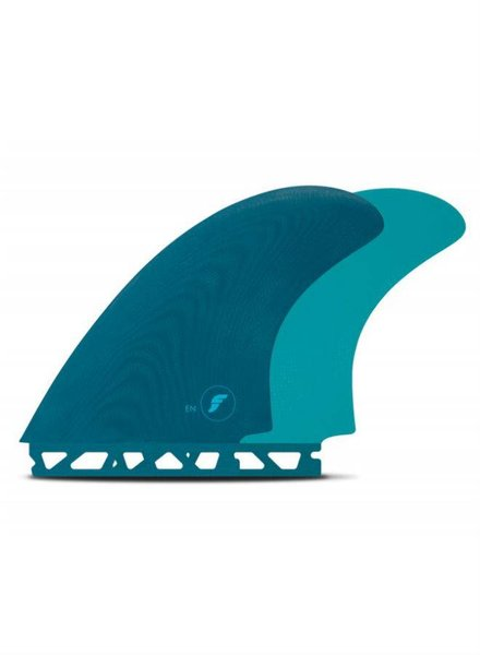 FUTURES Futures EN FG Twin Fin Set - Teal