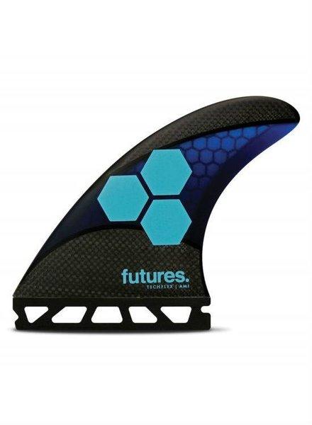 FUTURES Futures AM1 Techflex Thruster - Blue/Cyan M