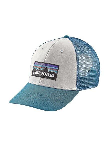 PATAGONIA PATAGONIA  P6 Logo LoPro Trucker Hat White Blue