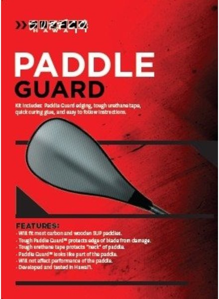 SURF CO. HAWAII Surf Co. Hawaii Paddle Guard Kit - Black