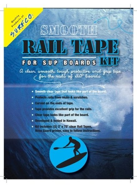 "SURF CO. HAWAII Surf Co. Hawaii Smooth Rail Tape (2 x 3"" x 72"" Rolls)"