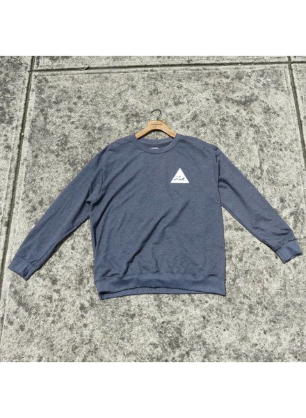 ZAK SURFBOARDS Zak Crew Sweater Triangle Logo