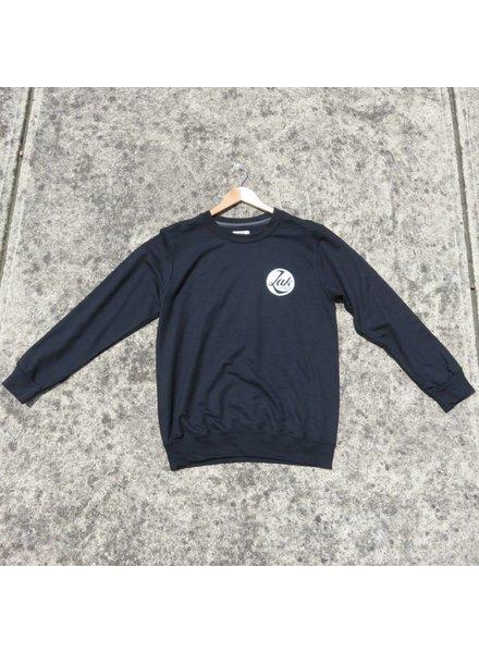 ZAK SURFBOARDS Zak Crew Sweater Circle Logo