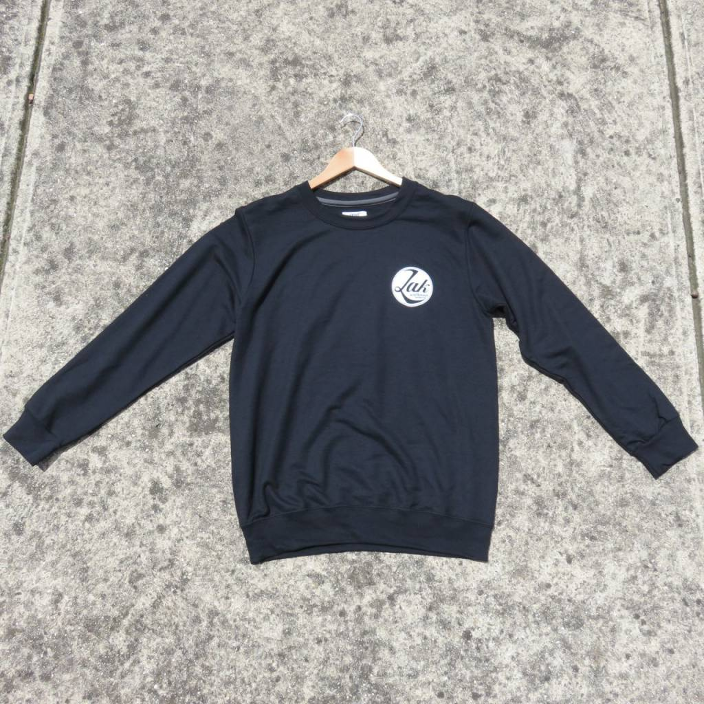 ZAK SURFBOARDS Zak Crew Sweater Circle Logo