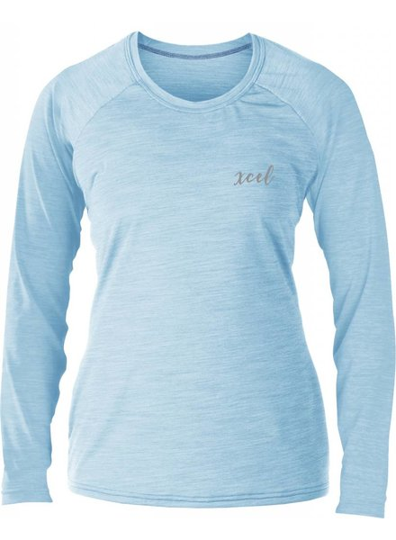 XCEL Xcel Somona Ventx LS Heather Cotton Candy