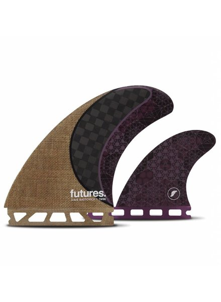 FUTURES Futures Rasta Twin + 1 Jute Carbon Purple