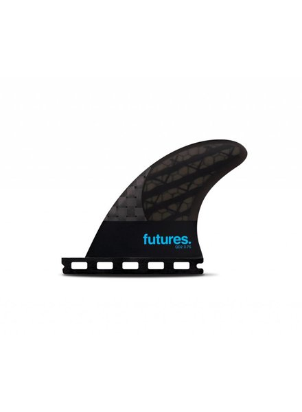 FUTURES Futures QD2 3.75 Blackstix Quad Rear Smoke /Turquoise