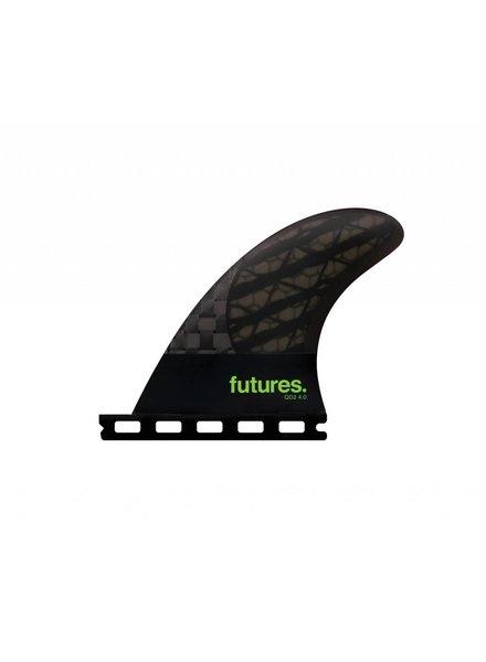 FUTURES Futures QD2 4.0 Blackstix Quad Rear Smoke/Light Green